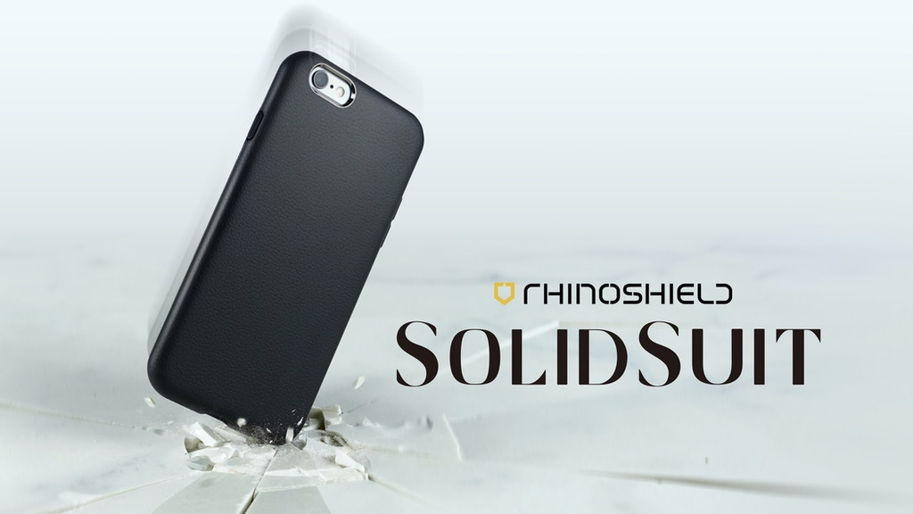 SolidSuit: Leather Finish Impact Protection Case for iPhone project video thumbnail