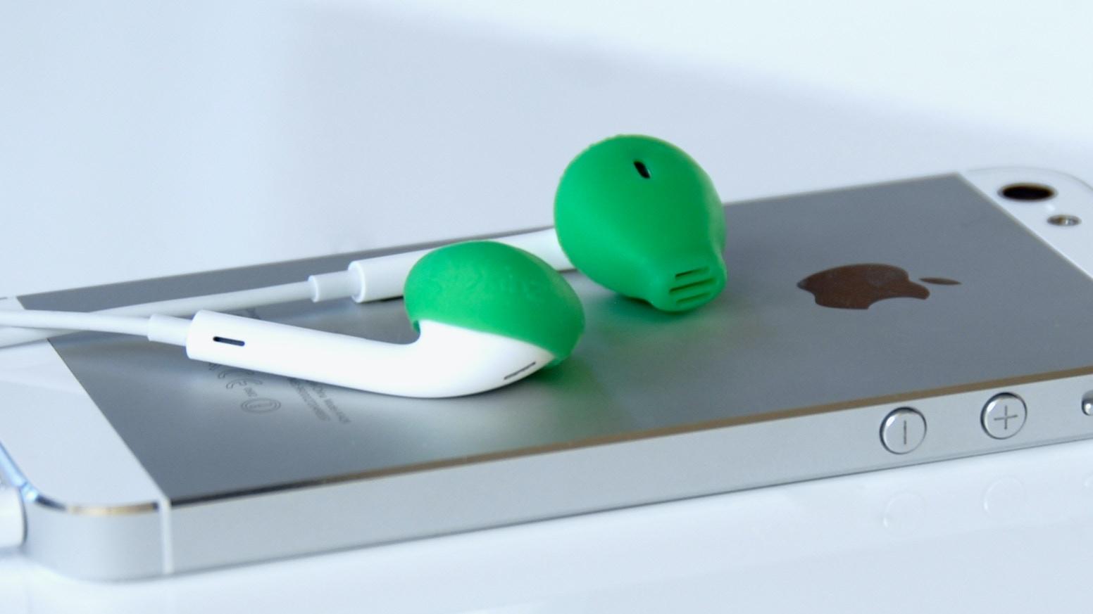 01fc5331f89 EarSkinz for EarPods by EarSkinz — Kickstarter