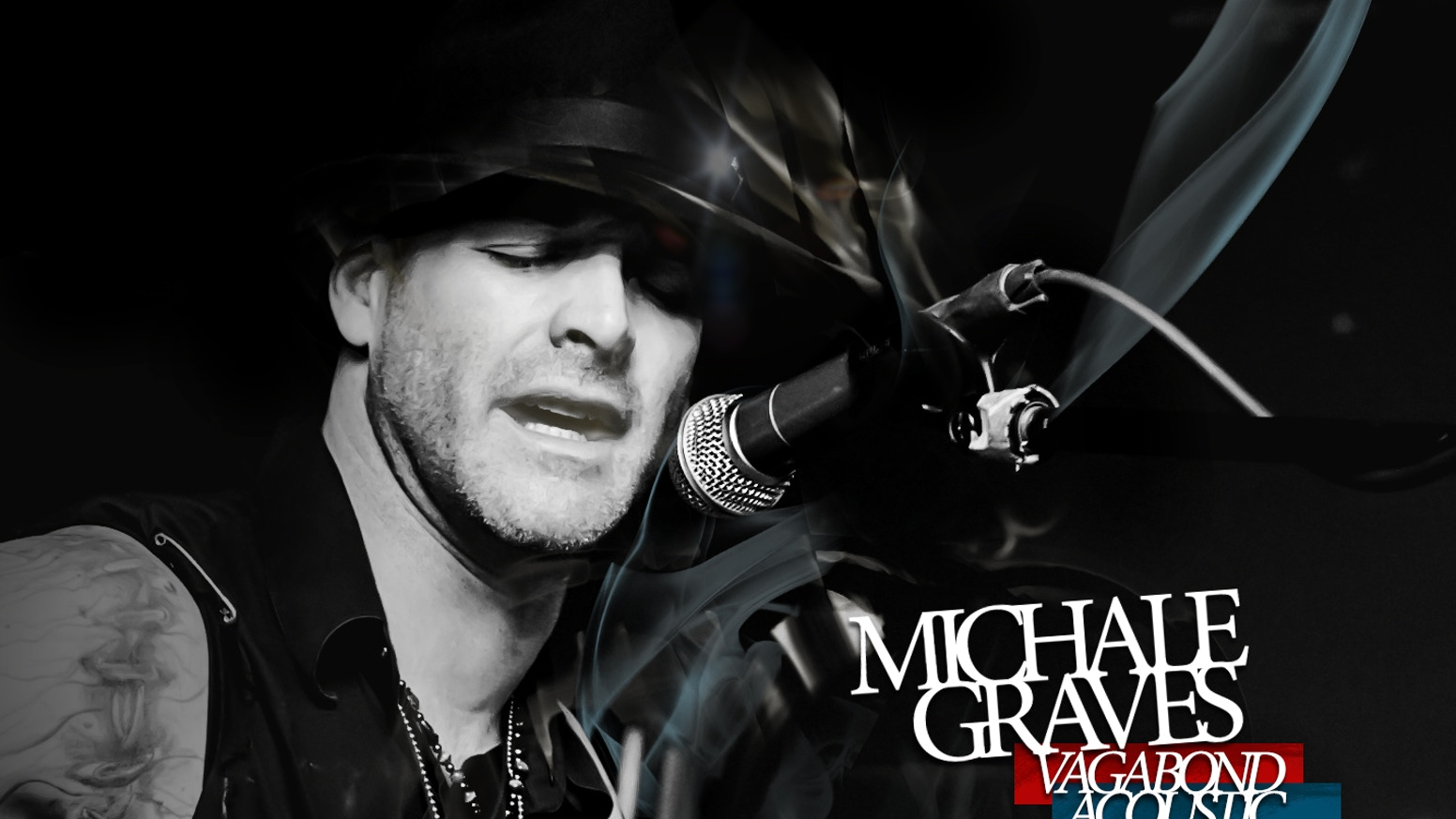 Michale Graves Vagabond Acoustic Extremely Limited Edition By