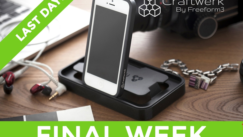 Aluminum Case for iPhone 5 with Smart Dock Packaging project video thumbnail