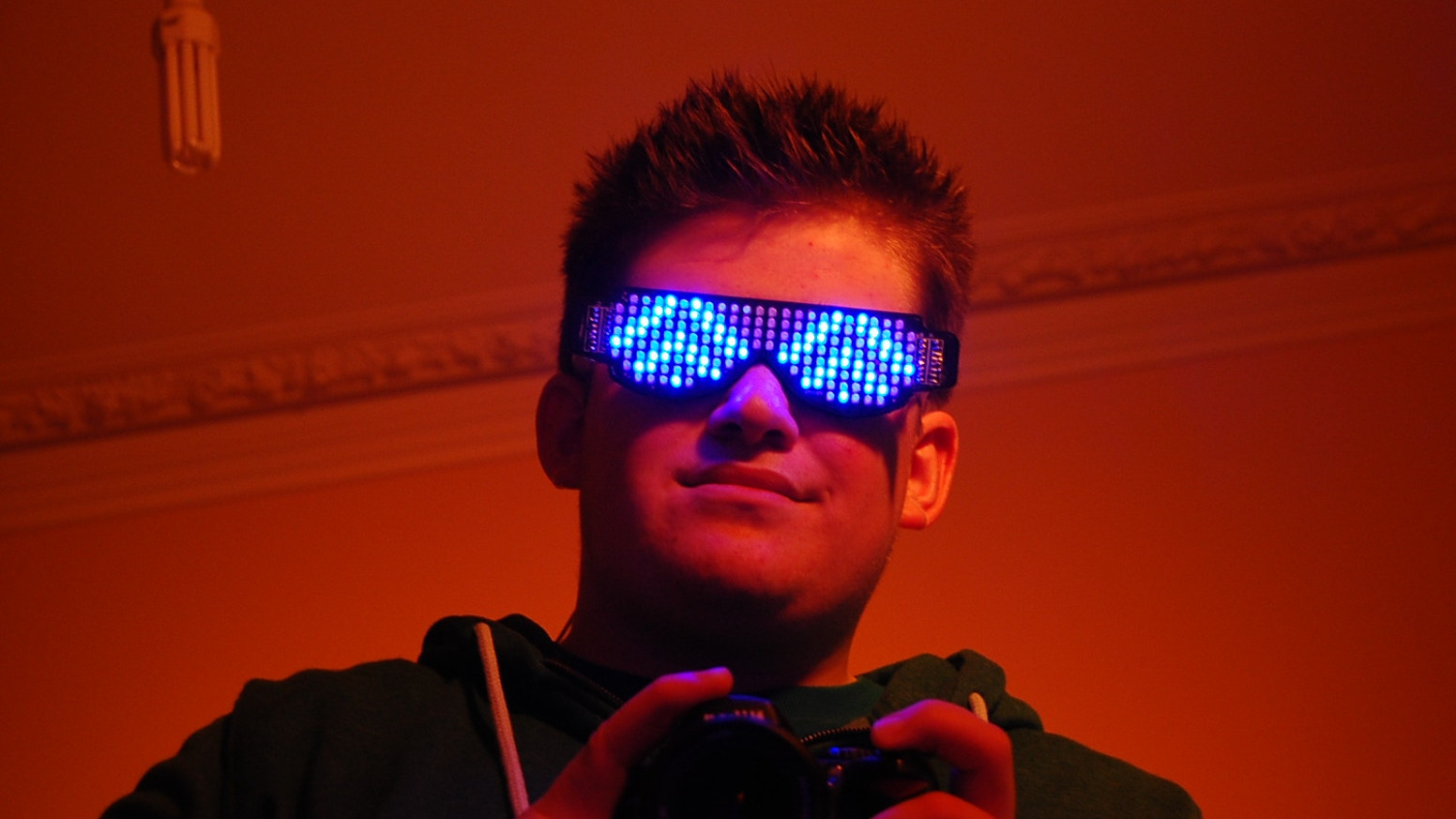 Rave Shades: The Self Assemble, LED Glasses Kit by Frederick