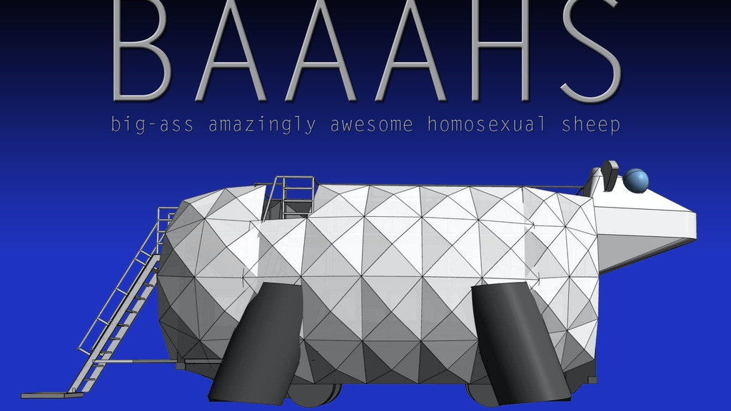 BAAAHS: big-ass amazingly awesome homosexual sheep project video thumbnail