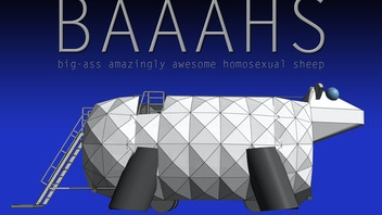 BAAAHS: big-ass amazingly awesome homosexual sheep