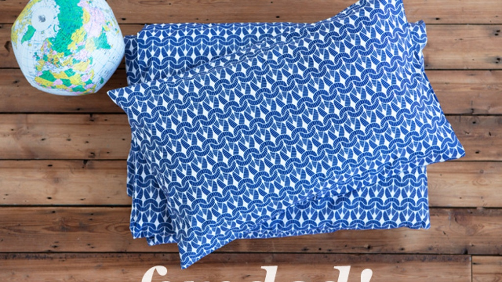 Knit Knit - cozy bedding made in Britain project video thumbnail