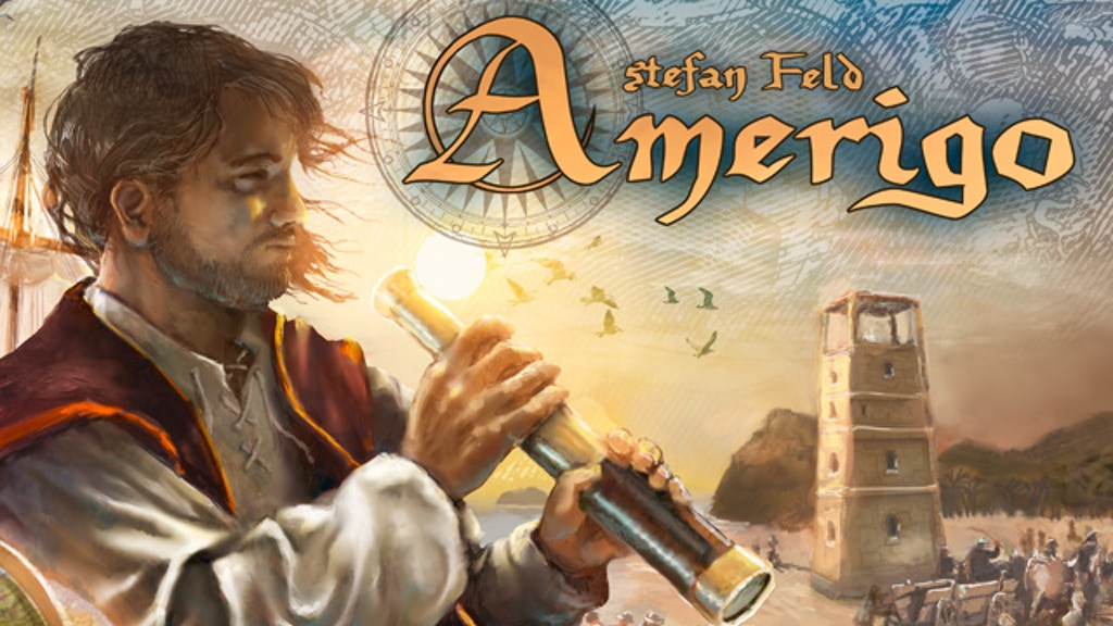 Amerigo - a game of exploration and discovery by Stefan Feld project video thumbnail