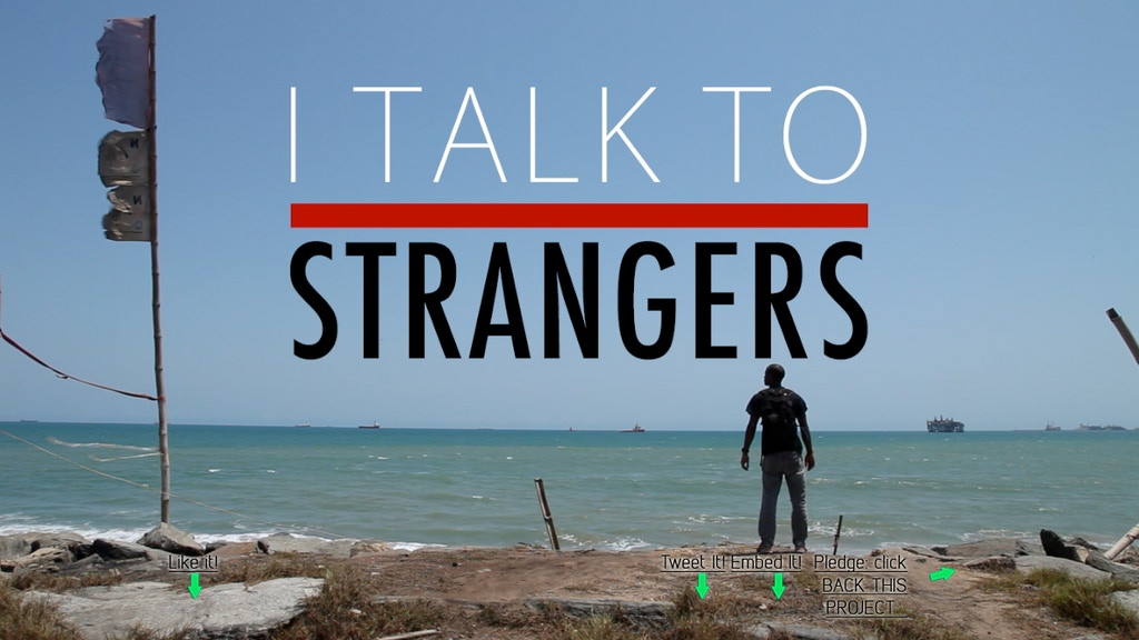 I TALK TO STRANGERS DOCUMENTARY project video thumbnail