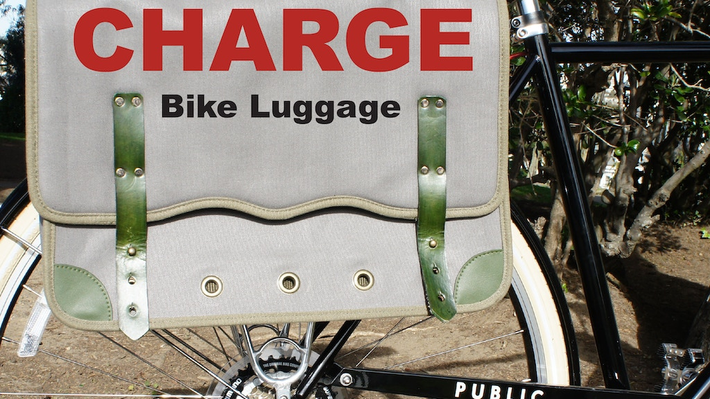 Project image for CHARGE Bike Luggage