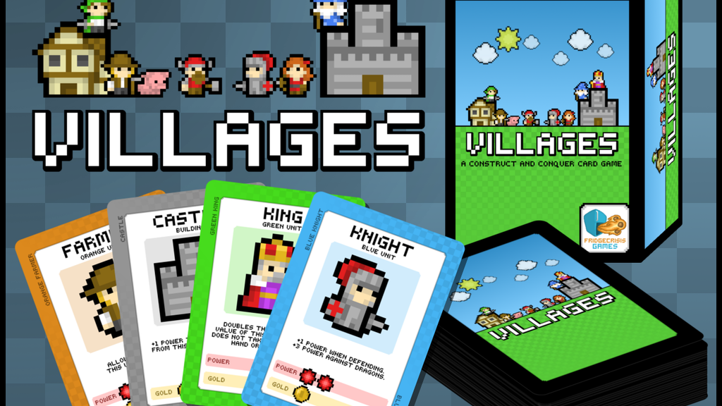 Villages: a Construct and Conquer Card Game project video thumbnail