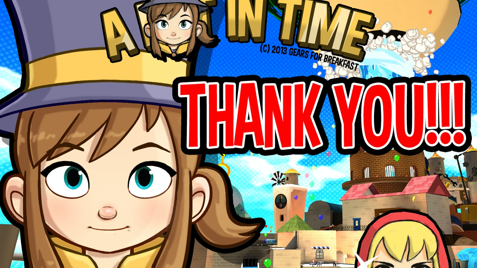 A Hat In Time 3d Collect A Thon Platformer By Gears For Breakfast Kickstarter