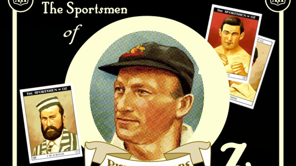 The Sportsmen of Oz Limited Edition Trading Card Set project video thumbnail