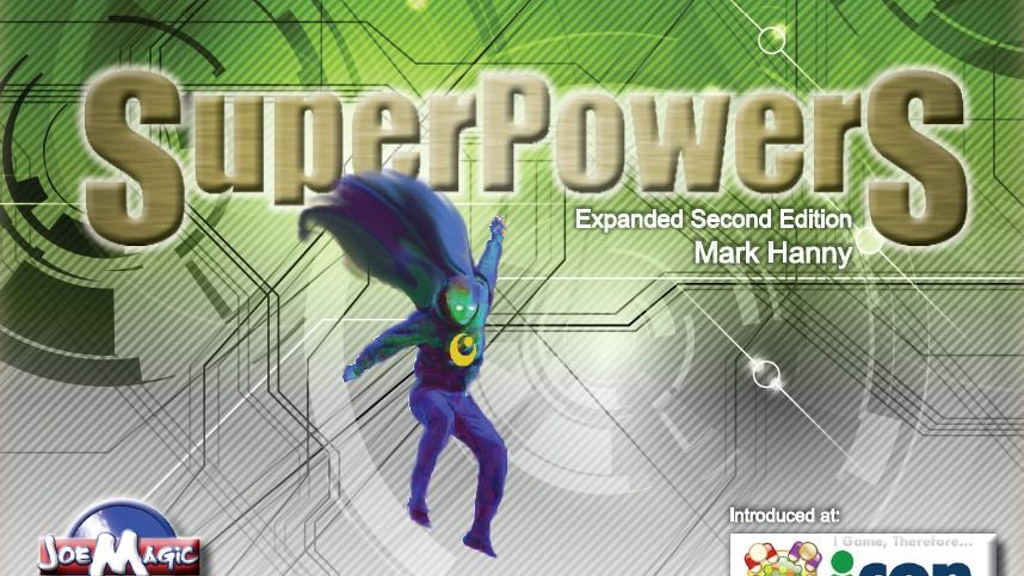 Super Powers Board Game. project video thumbnail