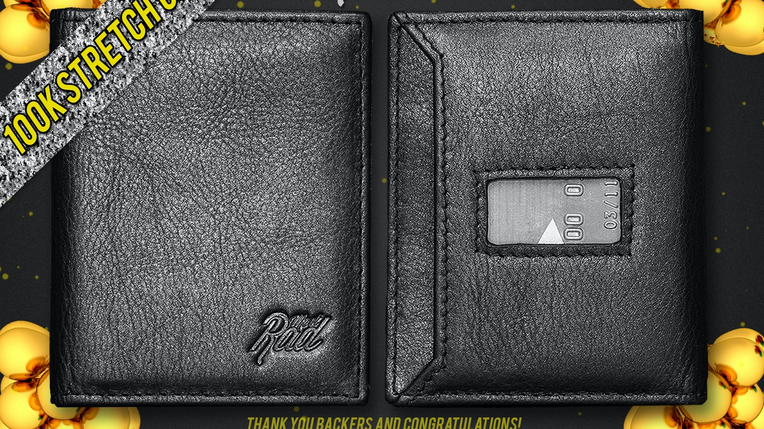 Offering comfort, speed, style, and security...you'll never leave the house again without this premium modern day minimalist wallet.