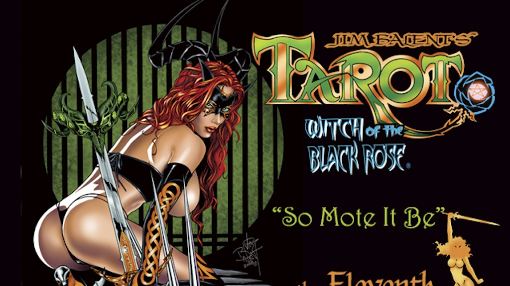 Tarot, Witch of the Black Rose: Eleventh Collected Trade project video thumbnail