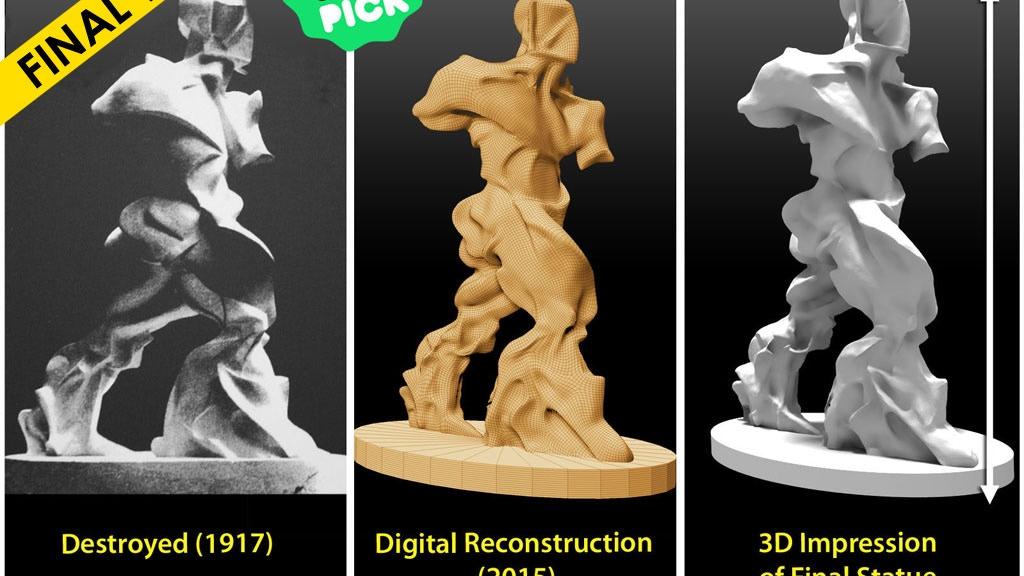Futurism's Lost Sculpture project video thumbnail