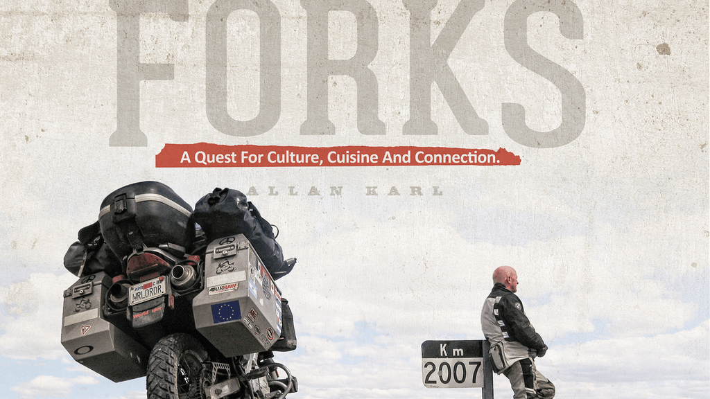 FORKS: Three Years. Five Continents. One Motorcycle. project video thumbnail