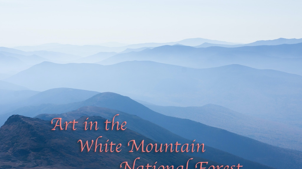Photographing the White Mountain National Forest project video thumbnail