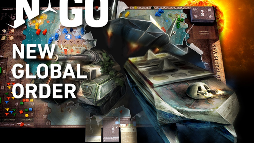 NGo NEW GLOBAL ORDER project video thumbnail