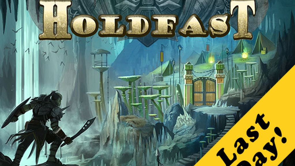 Holdfast: A Gamebook of Dwarven Vengeance project video thumbnail
