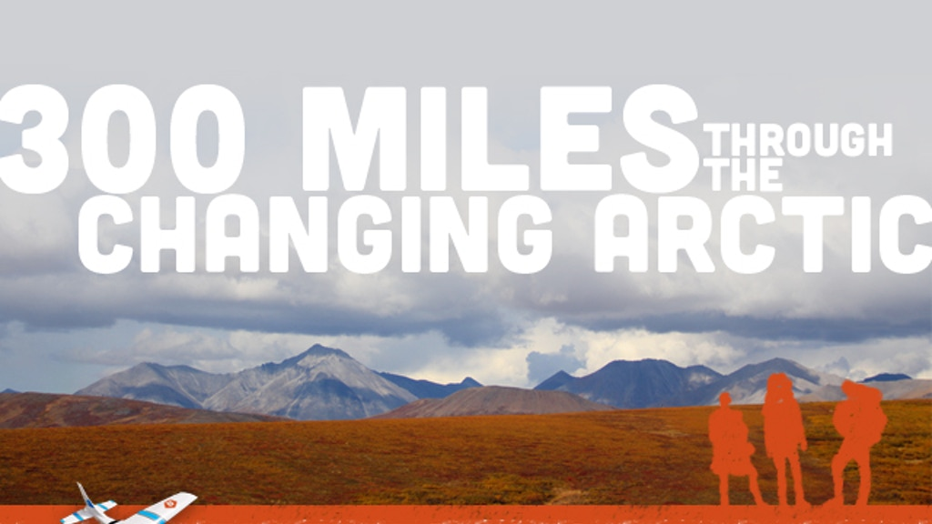 300 Miles through the Changing Arctic project video thumbnail