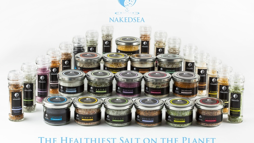 Naked Sea: Naturally Harvested Gourmet Mineral Dead Sea Salt project video thumbnail