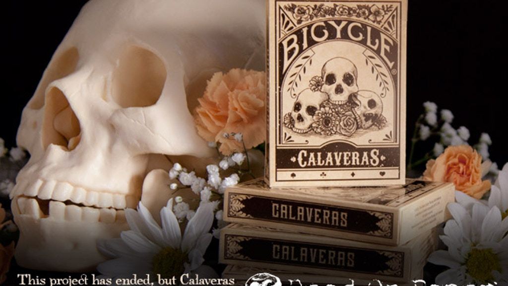 Calaveras — Playing cards inspired by the Day of the Dead project video thumbnail