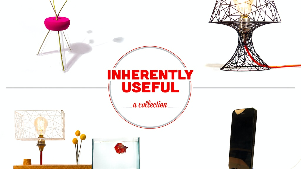 Inherently Useful: A 3D Printed Collection project video thumbnail