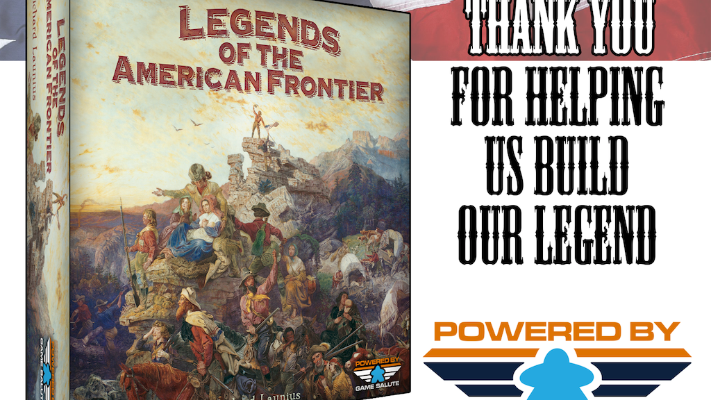 Legends of the American Frontier by Richard Launius project video thumbnail
