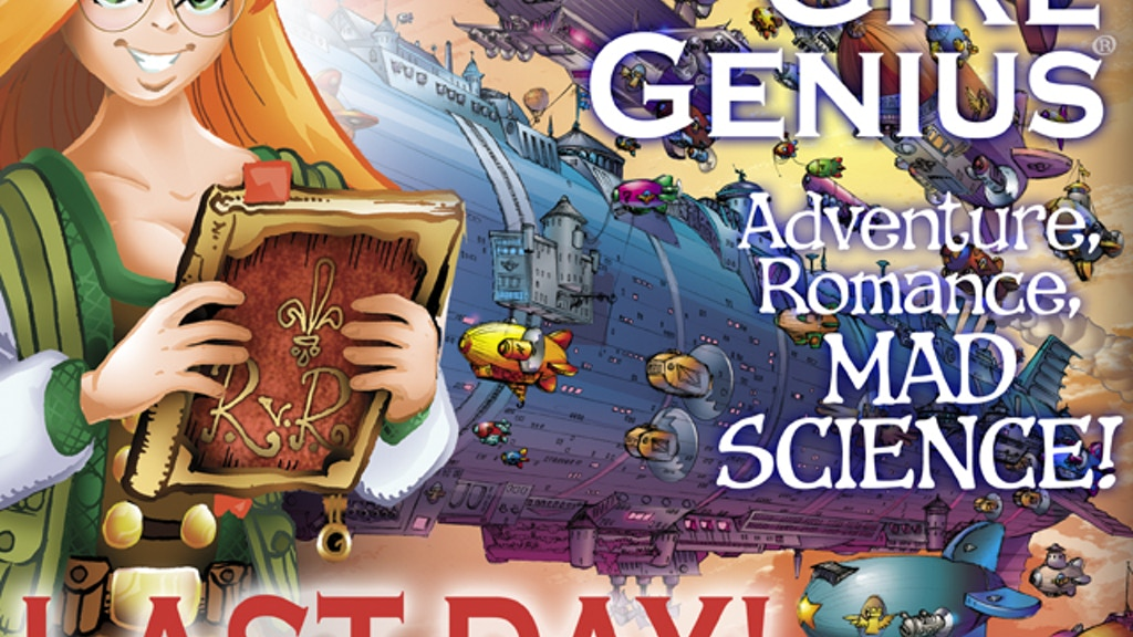 Girl Genius Volume 12 Printing and Reprint Frenzy! project video thumbnail