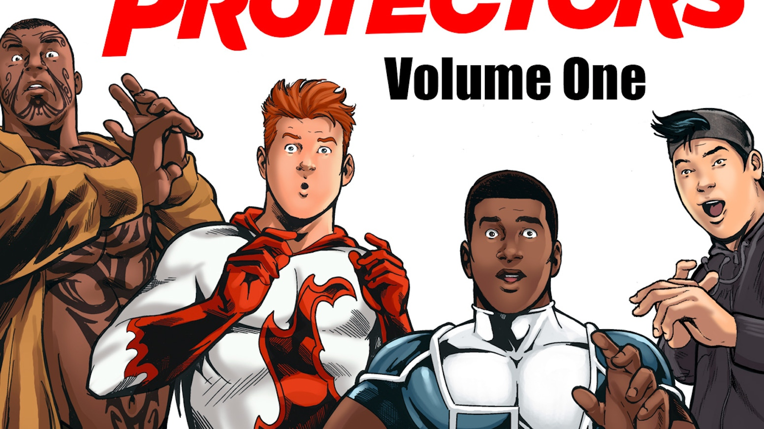 Get the book, trading cards & more for The Young Protectors—a smart superhero tale featuring a hero who just happens to like other guys