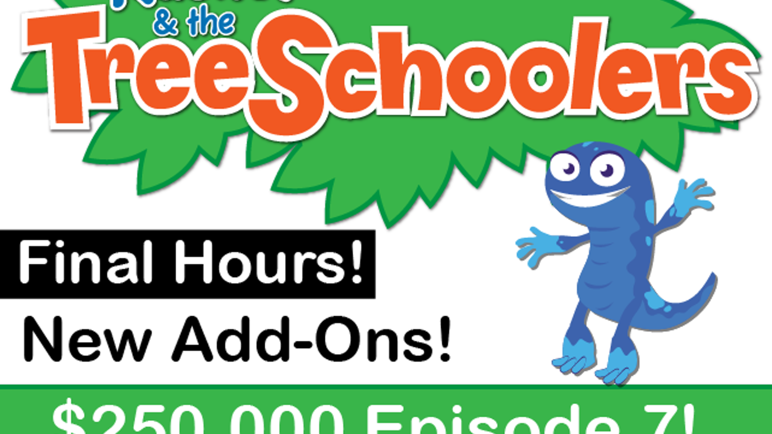 Finally, a show that's as smart and fun as your kids! A PhD backed preschool show in 12 musical episodes. Brought to You by You.