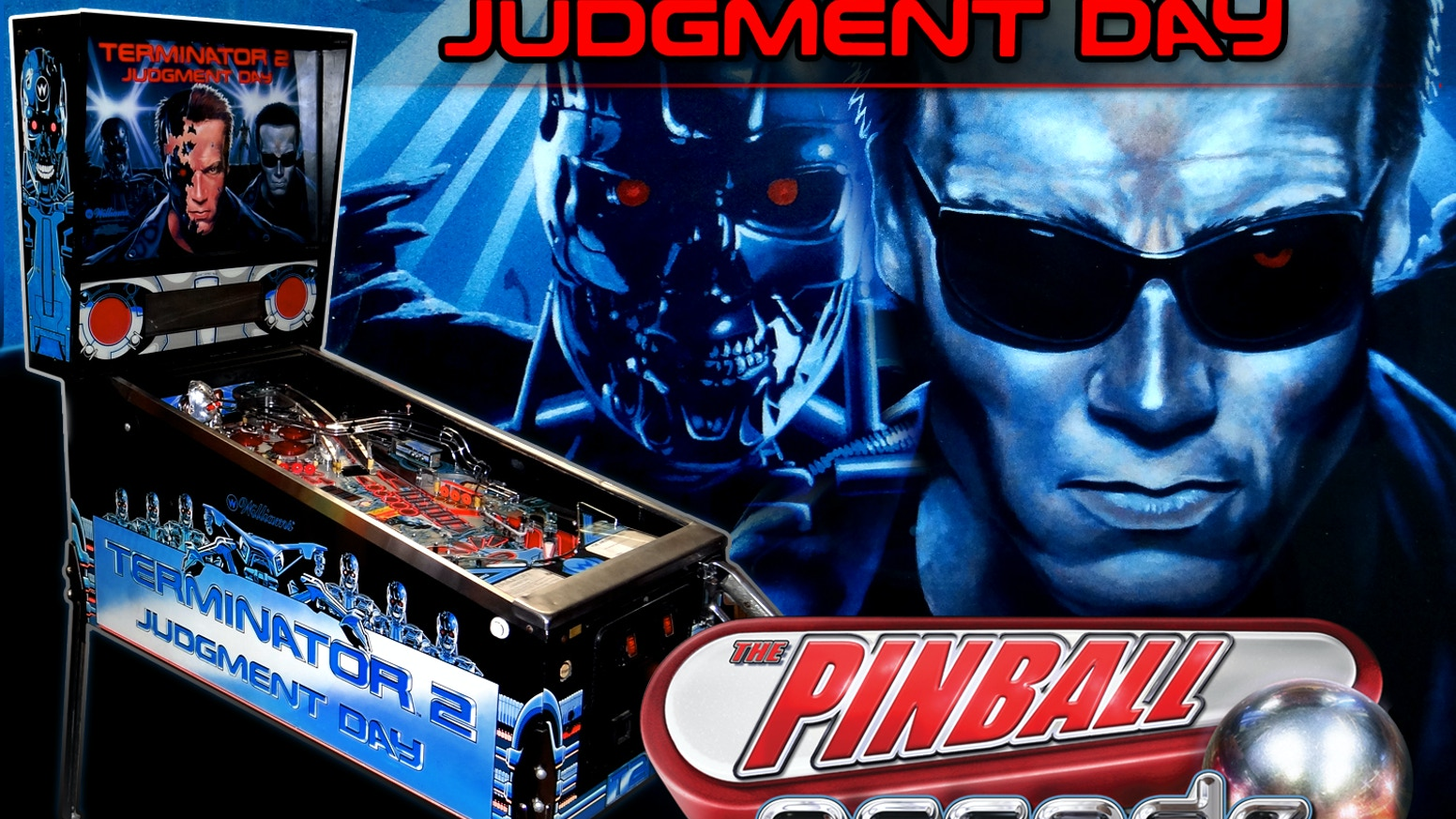 Help us bring the Terminator 2: Judgment Day pinball table to game consoles and mobile devices for a whole new generation to enjoy!