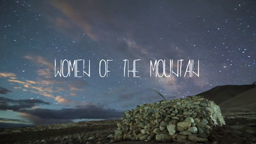 Women of the Mountain project video thumbnail