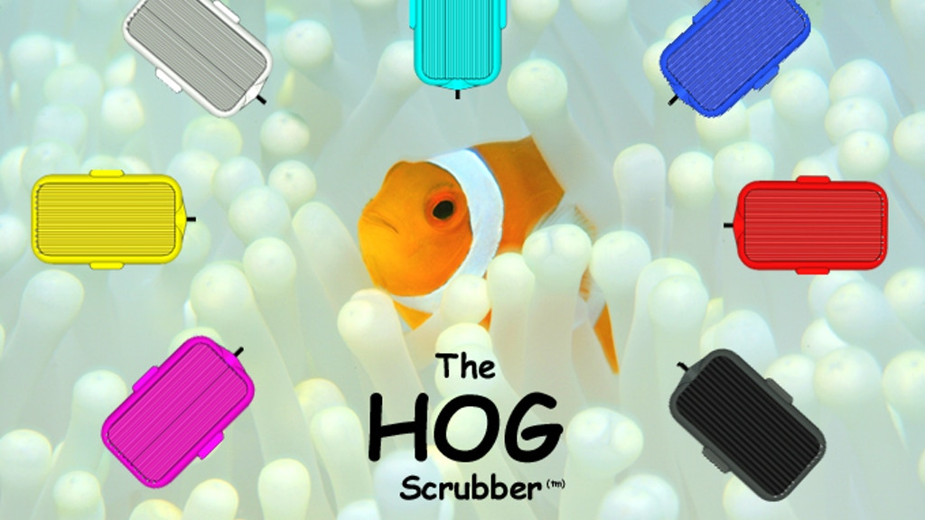 Project image for The 3D Printed HOG Scrubber - For Self Sustaining Aquariums