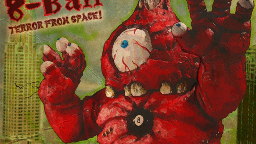 8-BALL the Terror From Space! Sofubi Vinyl Figure project video thumbnail