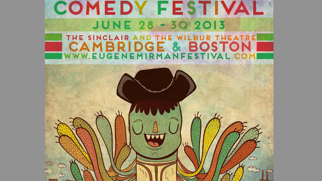 The Eugene Mirman Comedy Festival in Boston & Cambridge! project video thumbnail