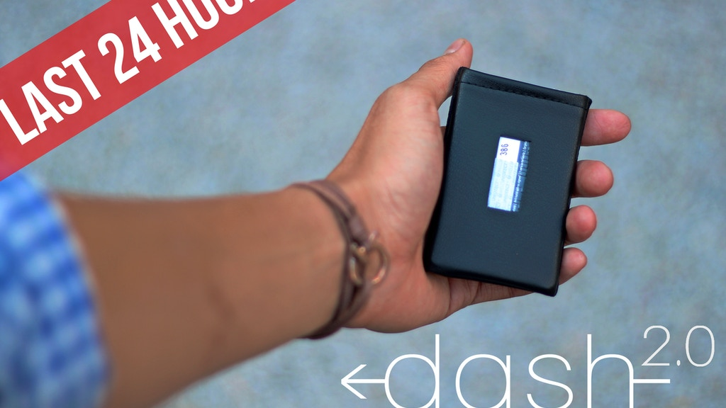 DASH 2.0 Wallet ~ The Leather Wallet Redesigned project video thumbnail