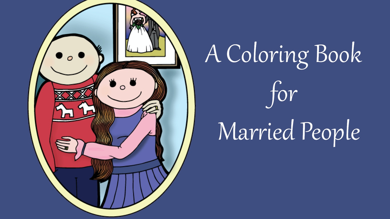 A Coloring Book For Married People By Outside The Lines