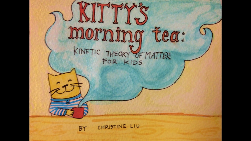 Kitty S Morning Tea Kinetic Theory Of Matter For Kids