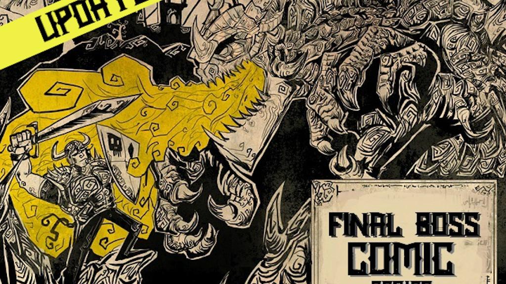 Final Boss project: Comic series. project video thumbnail