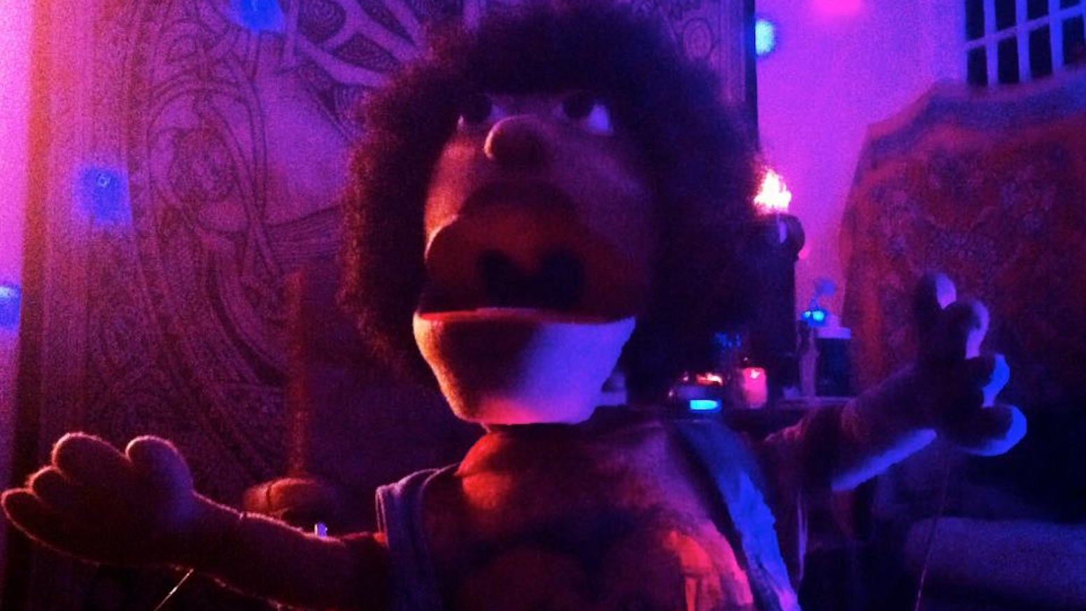 just makeda a web series with some really cool puppets by makeda