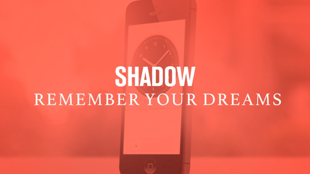SHADOW | Community of Dreamers project video thumbnail