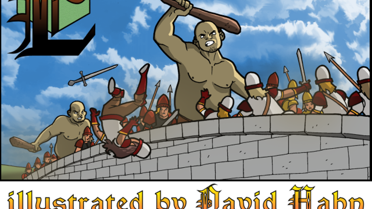 E is for Erfworld (the Erfabet Book) & debut of David Hahn