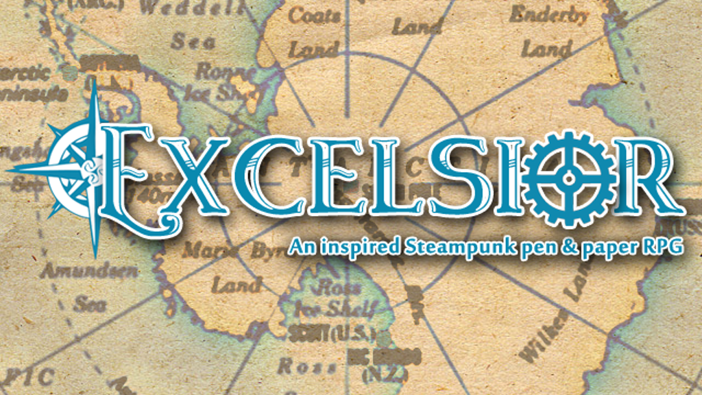 Project image for Excelsior – An Inspired Steampunk Pen and Paper RPG