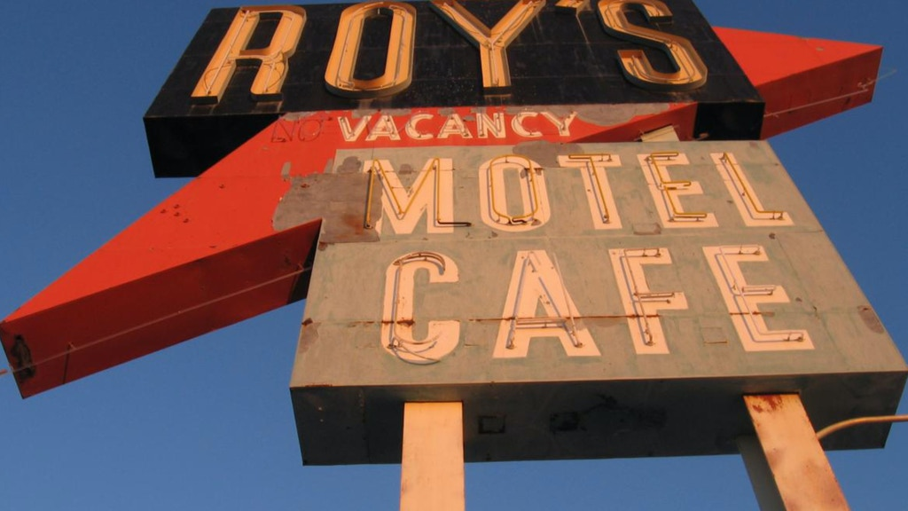 Project image for Restoration of Historic Neon Sign on Route 66, Amboy, CA