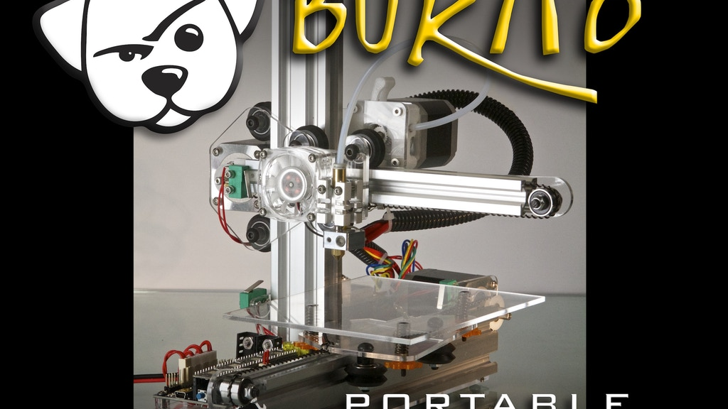 Bukito Portable 3D Printer - Take it everywhere! project video thumbnail