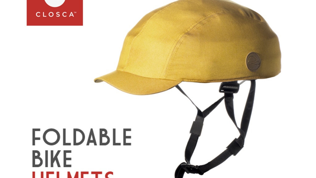 CLOSCA | Street style foldable bicycle helmet project video thumbnail