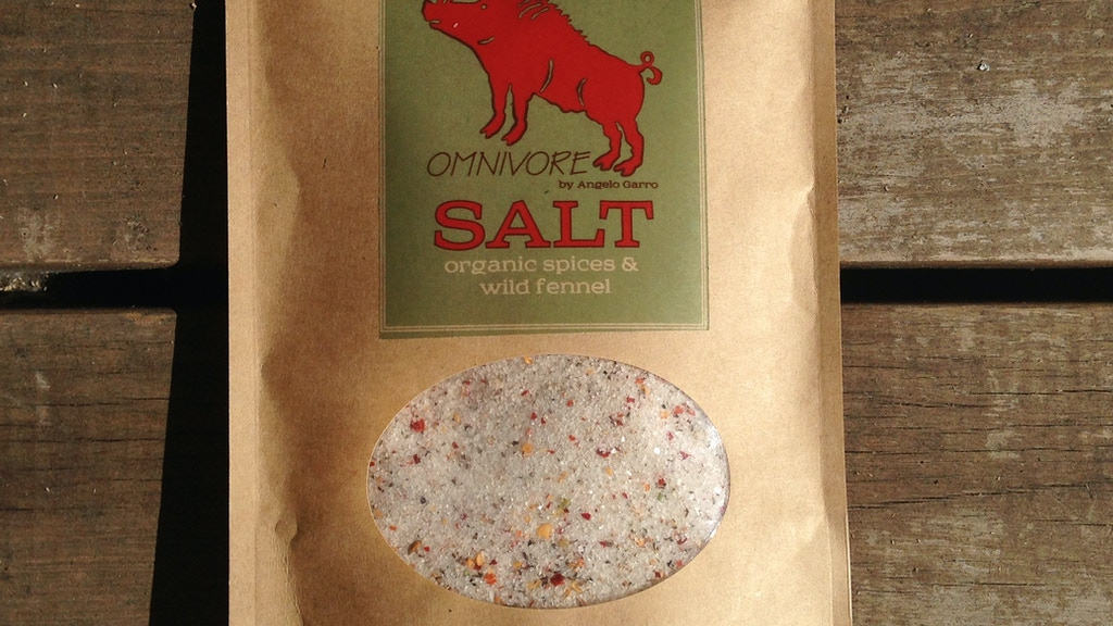 OMNIVORE SALT—A family recipe that makes food taste better project video thumbnail