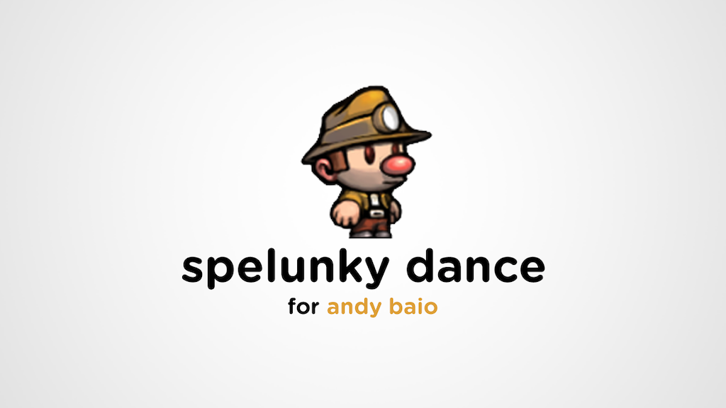 Spelunky Dance project video thumbnail