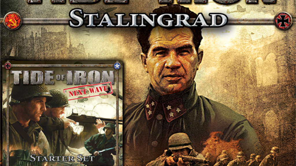 Project image for Next Wave - Tide of Iron starter set & Stalingrad expansion