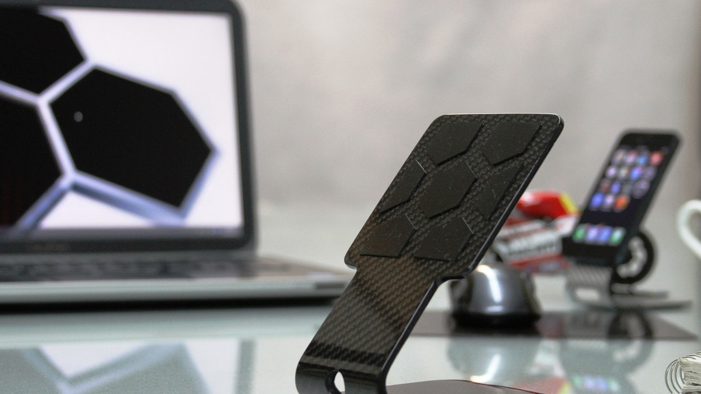 Stealth FS8 Carbon Fiber iPad/Tablet stand and Carbon Cover project video thumbnail